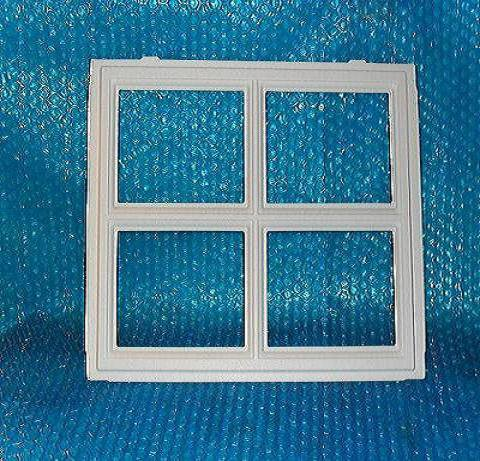 Garage door window insert stockton 18 w x 10 5 h stk 3121 for 18 x 10 garage door