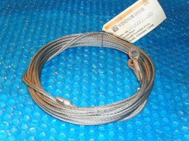 """Windsor 5/32""""x 238"""" HL overhead door cable set stk#(3142)"""