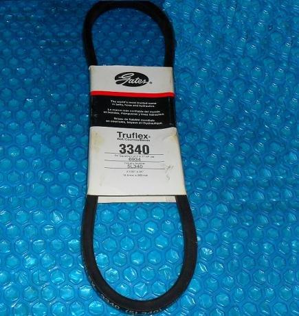 Gates Truflex V Belt 3340 Stk 3231