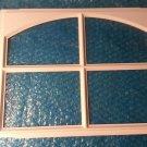 """garage door window inserts,  stockton ARCH  Design for 18 1/32""""w X 13 21/32""""h  set of 4  stk#(3278)"""