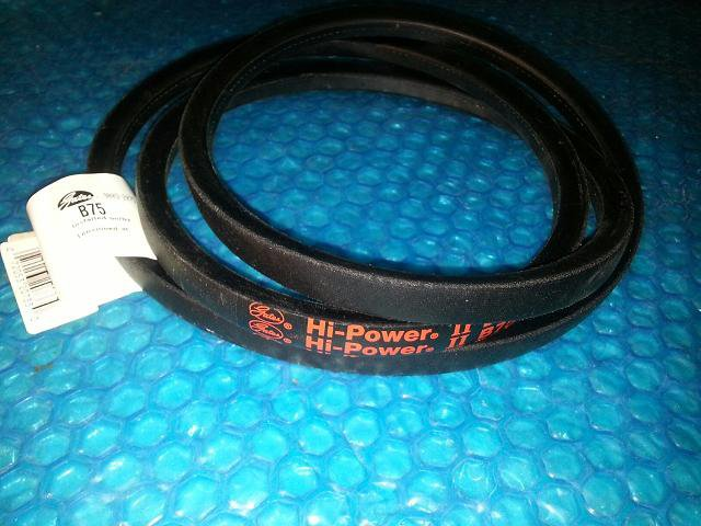 Gates HI-POWER II V BELT B75 K 2  5  25  Stk#(1392)