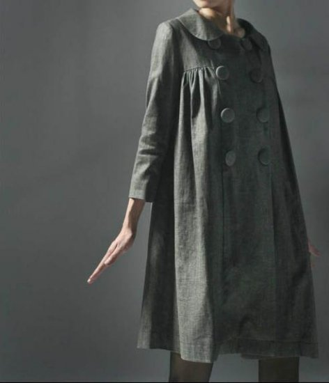 Princess Grey Coat