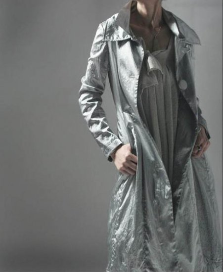 Silver Wind Grey Coat