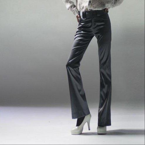 Dark Gray Fit Pants