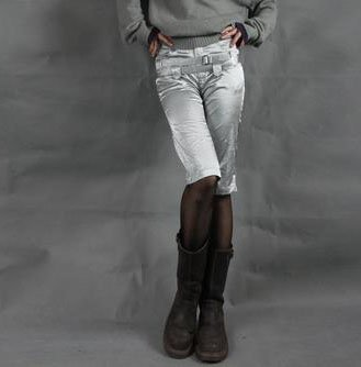 Silvery Gray Breeches