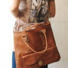 Brown Color Shoulder or Tote Bag Detachable Strap