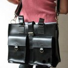Super Cool Unisex Black Color Leather BagSuper Cool Unisex Black