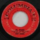 """Marty Robbins """"El Paso/Running Gun"""" 45 Vinyl"""