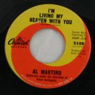 "Al Martino ""I'm Living My Heaven With You"" 45 Vinyl"