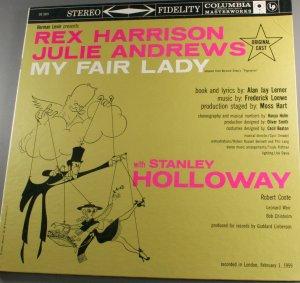 My Fair Lady Soundtrack-Original London Cast LP Vinyl