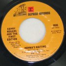 "Kenny Rogers and the First Edition ""Something's Burning/Momma's Waiting"" Reprise  45 Vinyl"