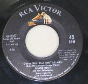 "Duane Eddy ""The Guitar Man/Stretchin' Out""  45 Vinyl"
