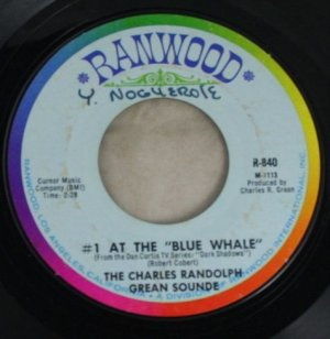 Charles Randolph Grean Sound-Dark Shadows-45 Vinyl
