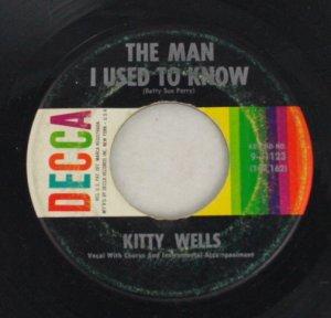 Kitty Wells-Carmel by the Sea-Decca-45 Vinyl Record