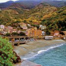 Tuscany Cove Beach Coast Shore ART Italian PAINTING