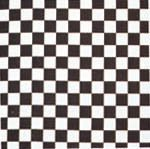 Checkerboard Style -  100 % Cotton- 22x22 In. Bandanas ( Ordered In Multiples of 12