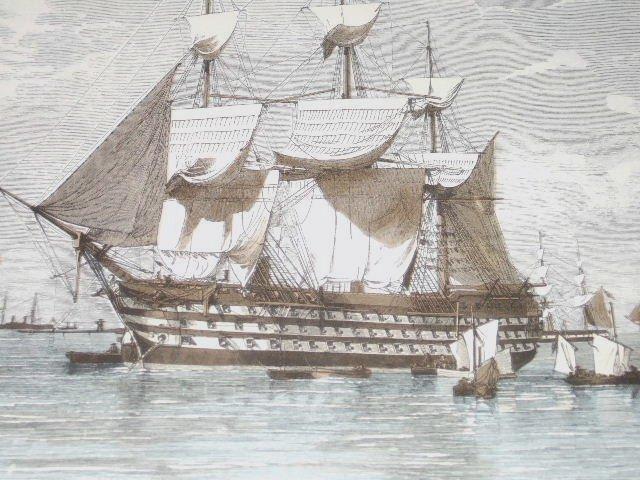 Nautical Ships Wall Paper Border