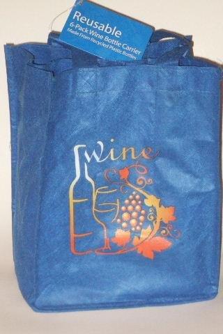 Wine Bottles Carrier Six Pack Reusable
