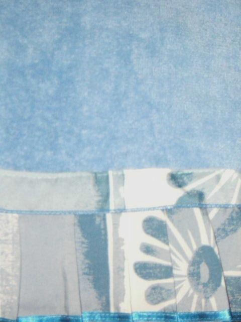 Popular Bath Blue Floral Bath Towel Set Mirage