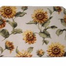 Sunflower Damask Placemats