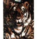 Tiger Faux Fur Fuzzy Accent Rug