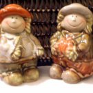 Autumn Themed Corn Pumpkin Salt and Pepper Shakers
