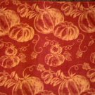Autumn Pumpkins Fabric Placemats