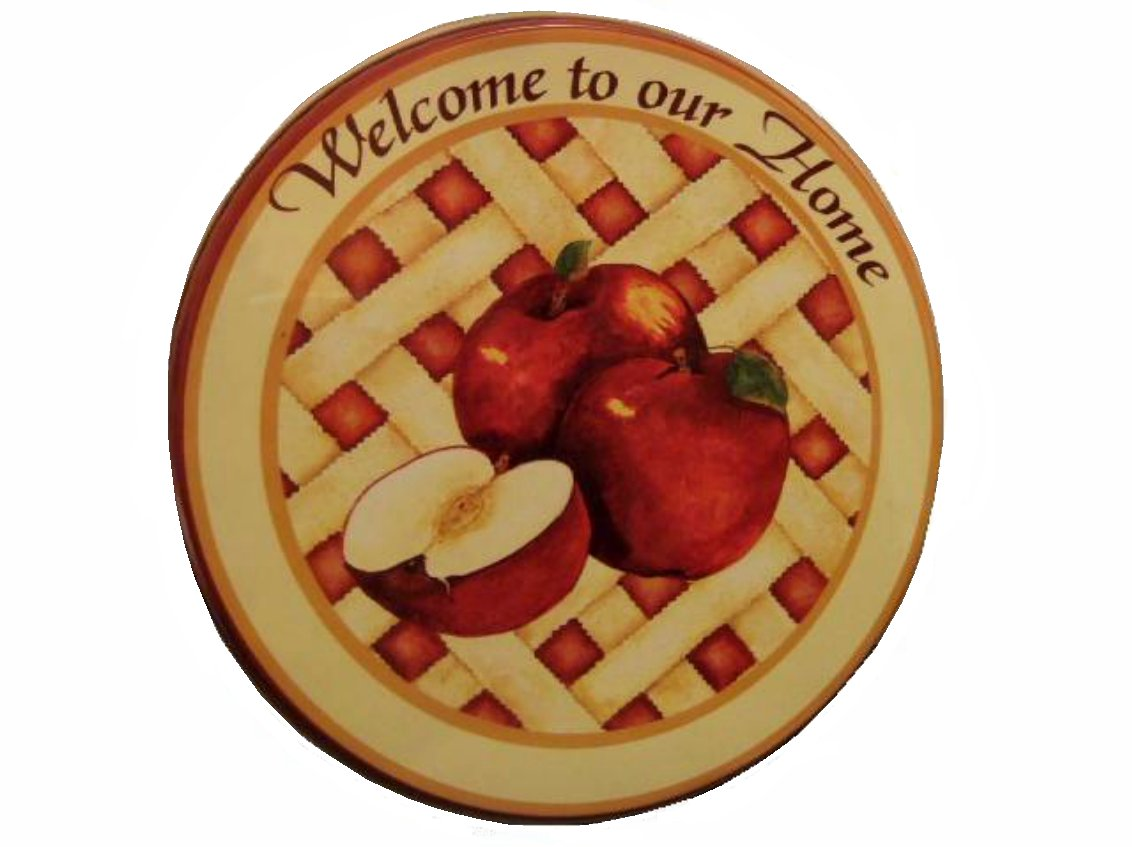 Apple Stove Burner Covers Apple Pie