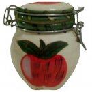 Apple Mini Ceramic Canister