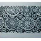 Black White Doily Design Placemats Set