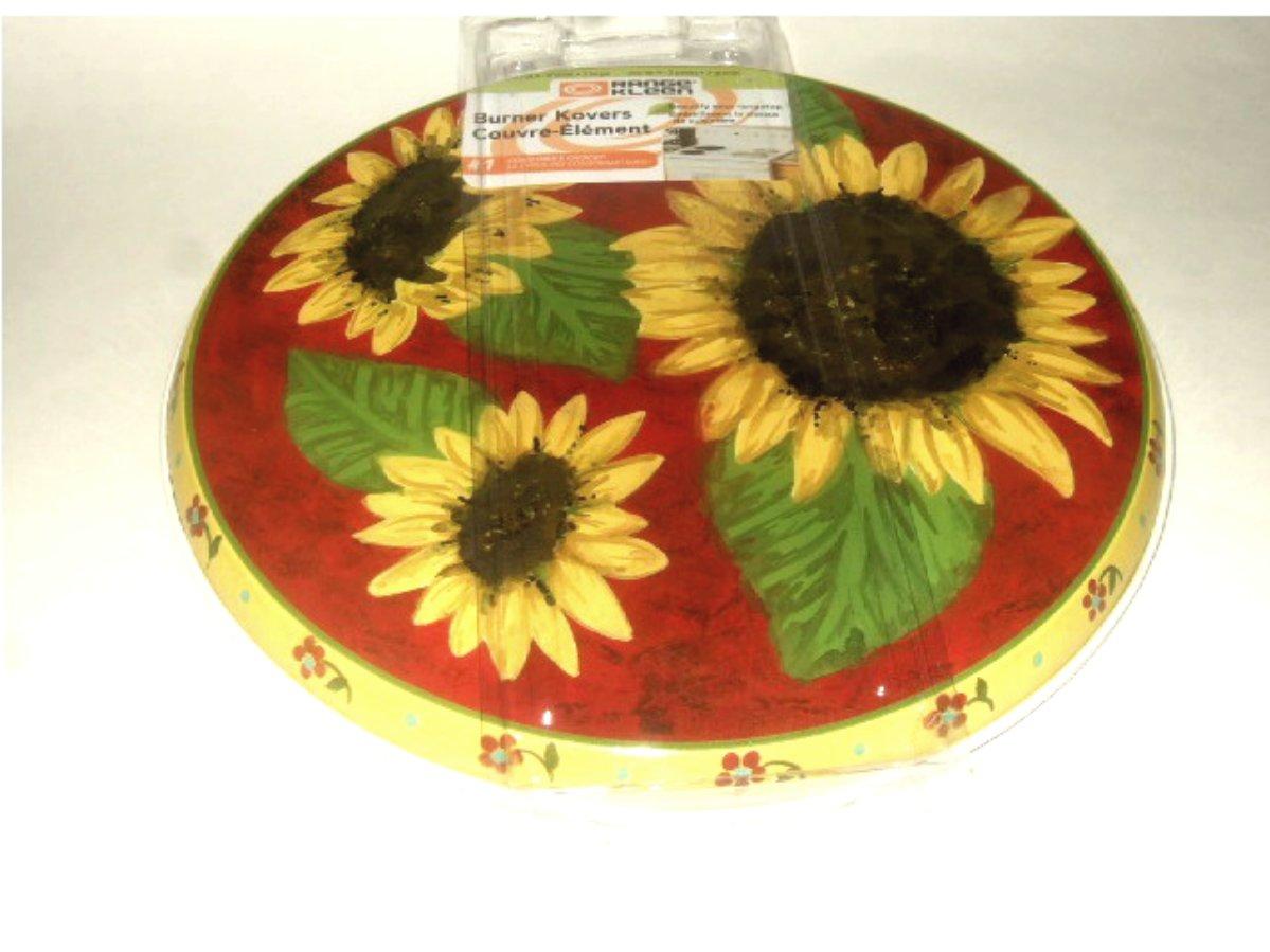 Sunflowers Kitchen Stove Range Burner Covers