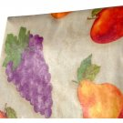 Grapes Apples Pears Fruit Themed Tablecloth