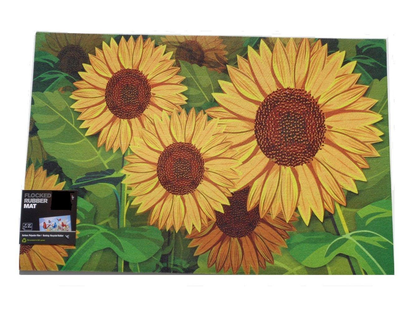 Sunflowers Doormat Outdoors Rug