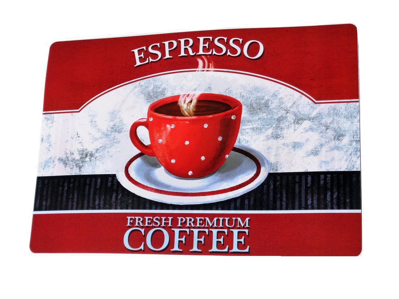 Espresso Coffee Cup Kitchen Placemats Set
