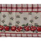 Apple Valley Tapestry Valance Apples Window Treatment