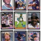 1985 Donruss Chicago Cubs Team Set-24 Cards