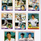 1983 Topps Detroit Tigers Team Set-28 Cards
