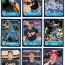 1986 Fleer Minnesota Twins Team Set-24 Cards