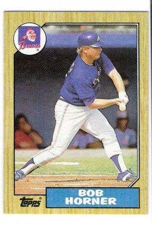 Lot Of 52 1987 Topps Bob Horner Baseball Cards Card 660