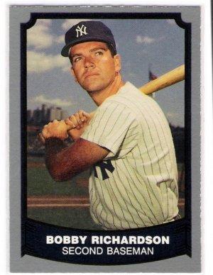 1988 Baseball Legends Bobby Richardson, Card #74