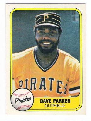 Lot Of 61 Dave Parker Baseball Cards