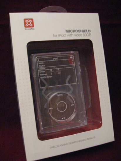 XtremeMac MICROSHIELD CLEAR HARD PLASTIC CASE iPod NEW