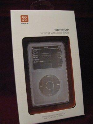 XtremeMac TUFFWAP  iPod 60 GB Case Cover Skin Clear NEW