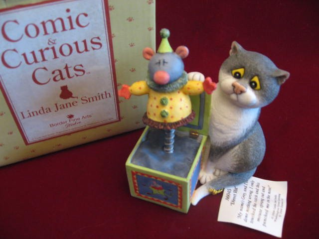 Comic and Curious Cats Direct Hit NEW