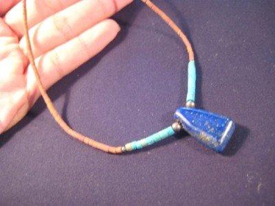 Lapis Lazul Lauzli Pendant Jade necklace Afghanistan A