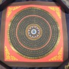 Blue Ohm Mandlala Thangka Thanka Painting Nepal A