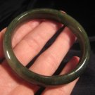 Natural Green Jadeite Jade mineral Bangle bracelet A