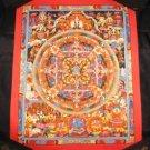 Buddha Mandala Thangka Thanka Painting Nepal Art A
