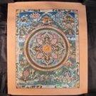 24 K Gold Shakyamuni Buddha Mandala Thangka Thanka Painting dragon border Nepal