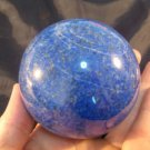 Lapis Lazul Lazuli Crystal Ball stone Mineral Art carving Afghanistan A6